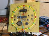 Prototype LED clock