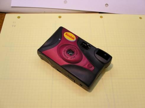 Kodak disposable camera.
