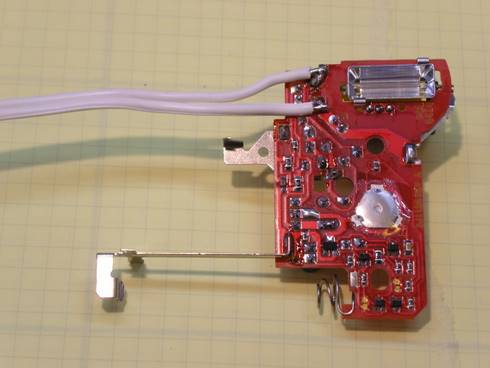 Flash circuit extracted from camera.